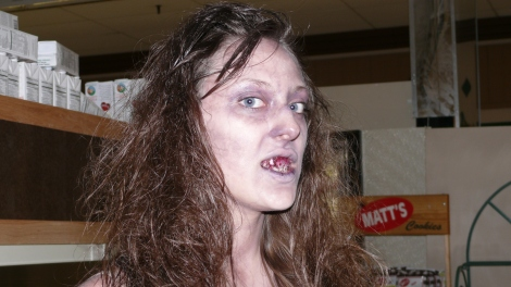 Zombie in The Castaways